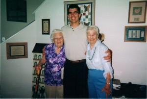 Elizabeth, Grandson Warren and Ditty