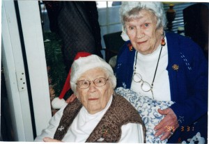Elizabeth and MaryJo