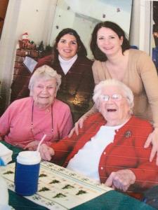 mary jo and grandma