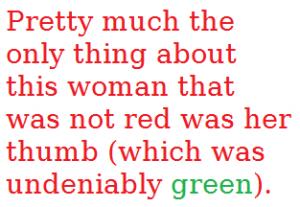 green thhumb