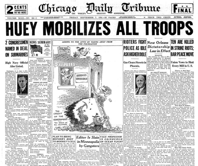Chicago Daily Tribune Sept 7, 1934