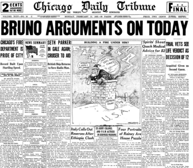 Chicago Daily Tribune Feb 11, 1935