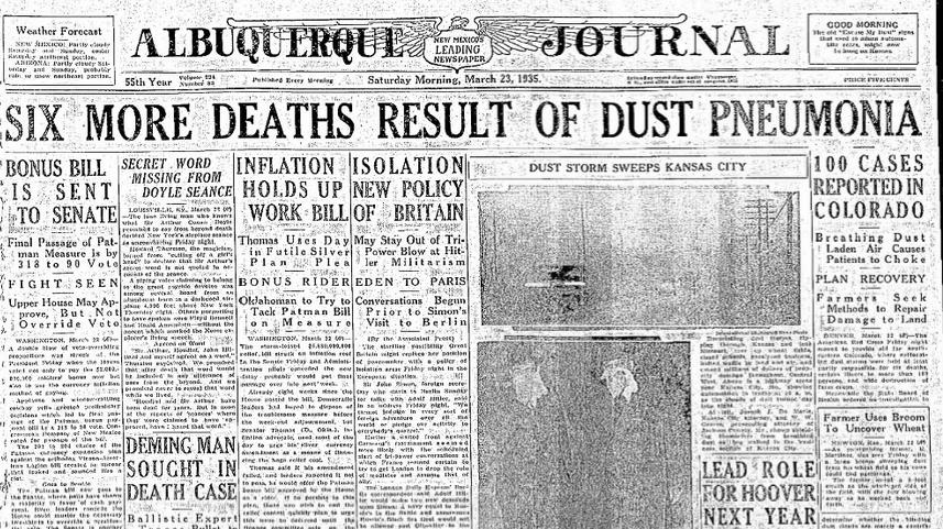 Albuquerque Journal Albuquerque, NM March 23, 1935