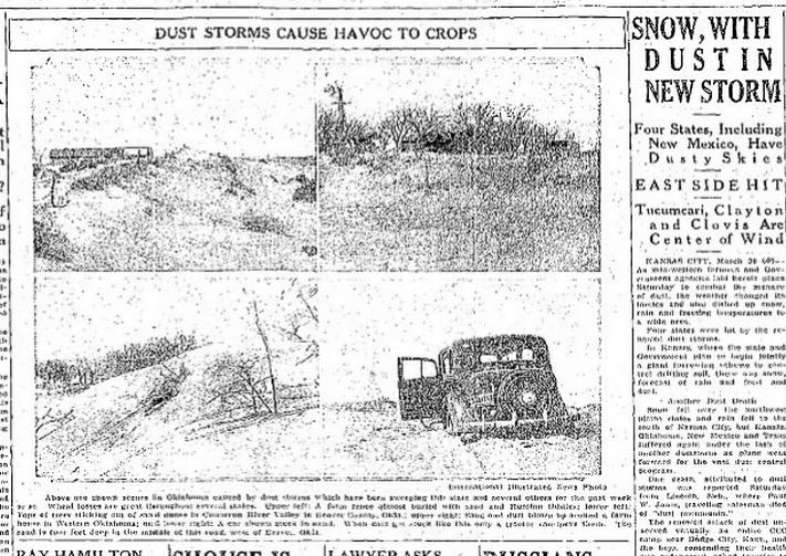 Albuquerque Journal Albuquerque, NM March 31, 1935 pg1