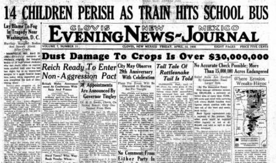 Clovis News Journal Clovis, Nm April 12, 1935