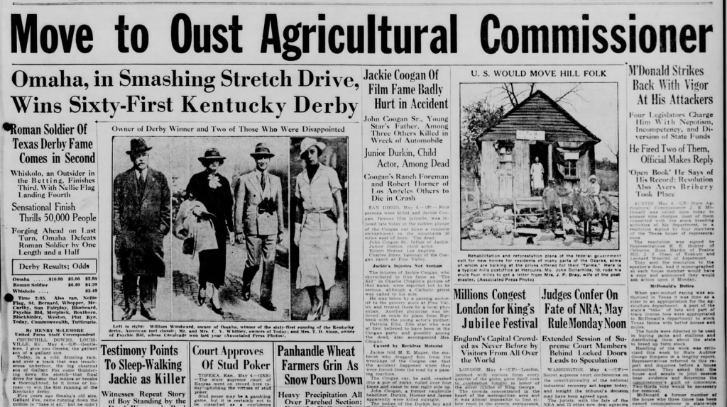 Waco Sunday Tribune Herald Waco, TX May 5, 1935