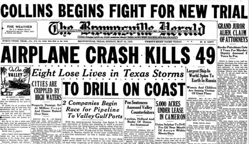 The Brownsville Herald Brownsville. TX May 19, 1935