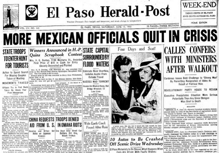 El Paso Herald Post El Paso. TX June 15, 1935