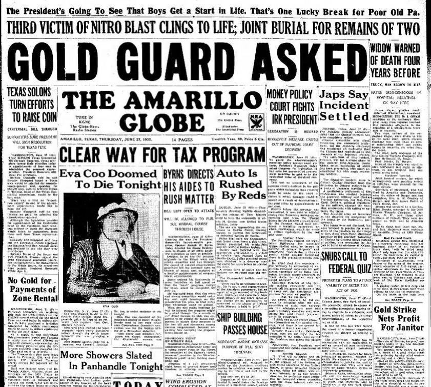 El Paso Herald Post El Paso TX June 27, 1935