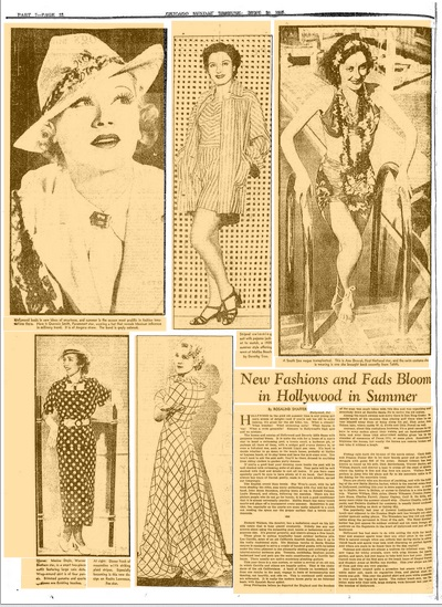 The Chicago Tribune June 30, 1935 pg 12
