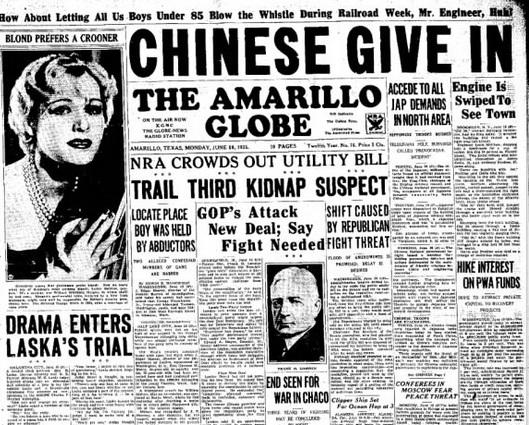 The Amarillo Globe-Times Amarillo, Tx June 10,1935