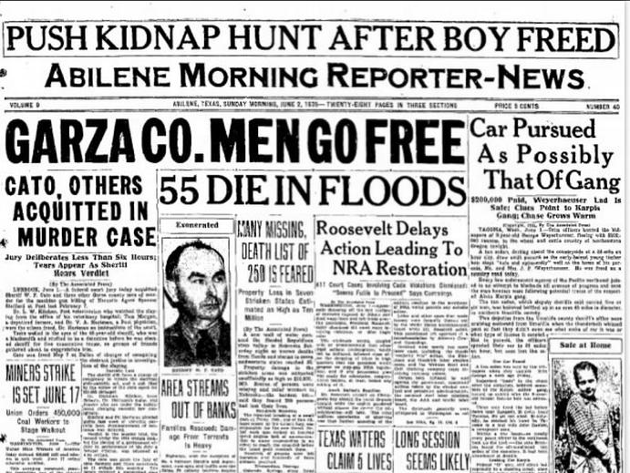 Abilene Reporter News Abilene, TX June 2, 1935