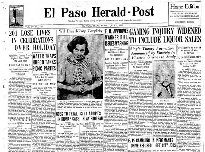 El Paso Herald-Post July 5, 1935