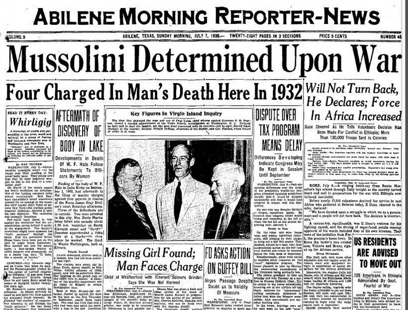 Albeline Morning Reporter News