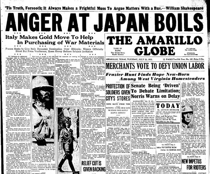 The Amarillo-Globe Times July 23, 1935