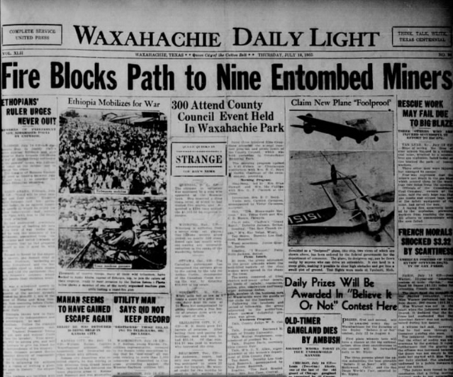 The Waxahachie Daily Light July 18, 1935
