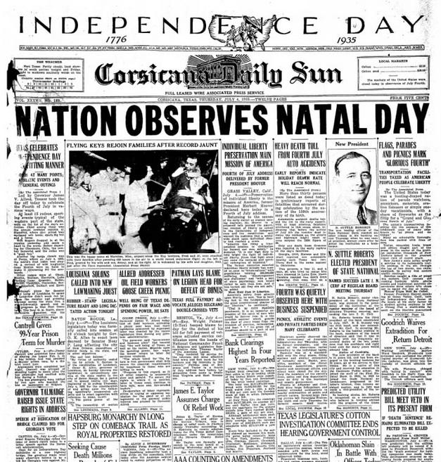 Corsicana Daily Sun July 4, 1935