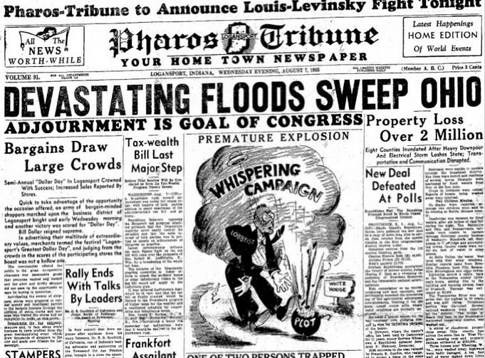 Logasnport Pharos Tribune  Logansport, IN Aug 7, 1935