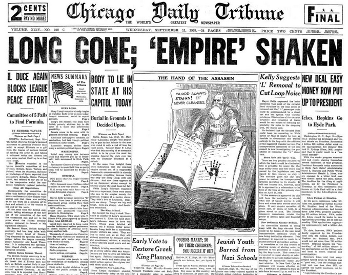 Chicago Daily Tribune Sept 11, 1935