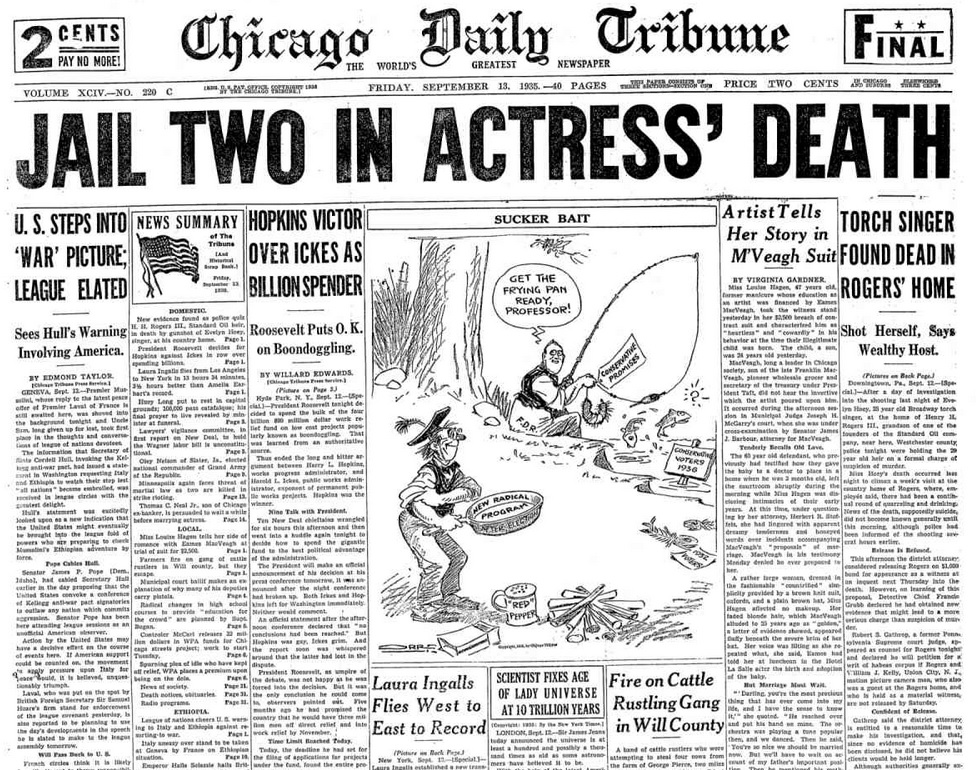 Chicago Daily Tribune Sept. 13, 1935