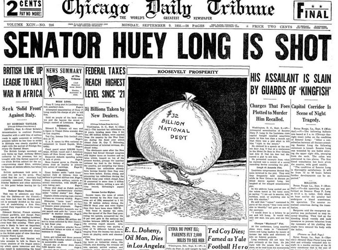 The Chicago Tribune Sept 9, 1935