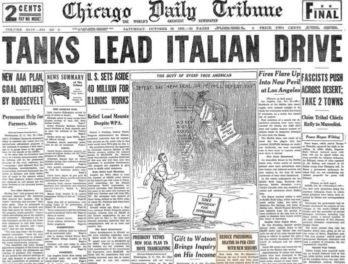 Chicago Daily Tribune Oct 26, 1935