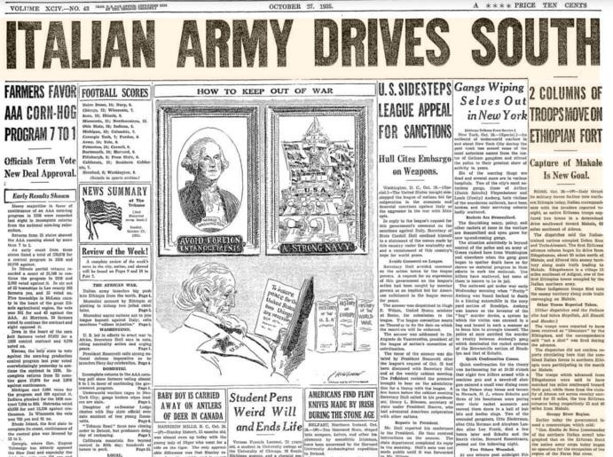 Chicago Sunday Tribune Oct 27, 1935