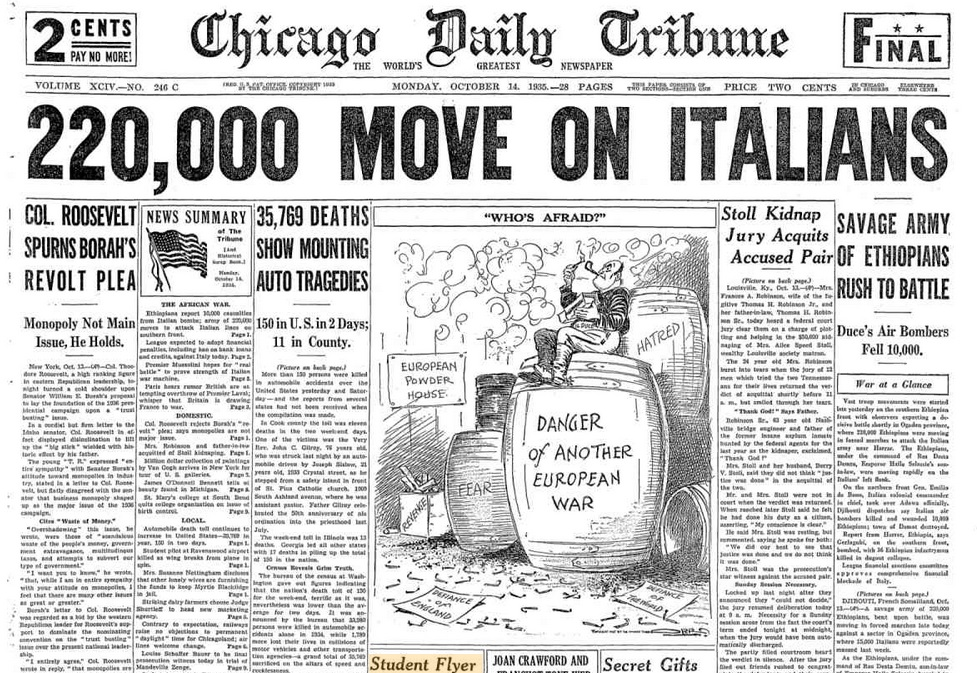 Chicago Daily Tribune Oct 14, 1935