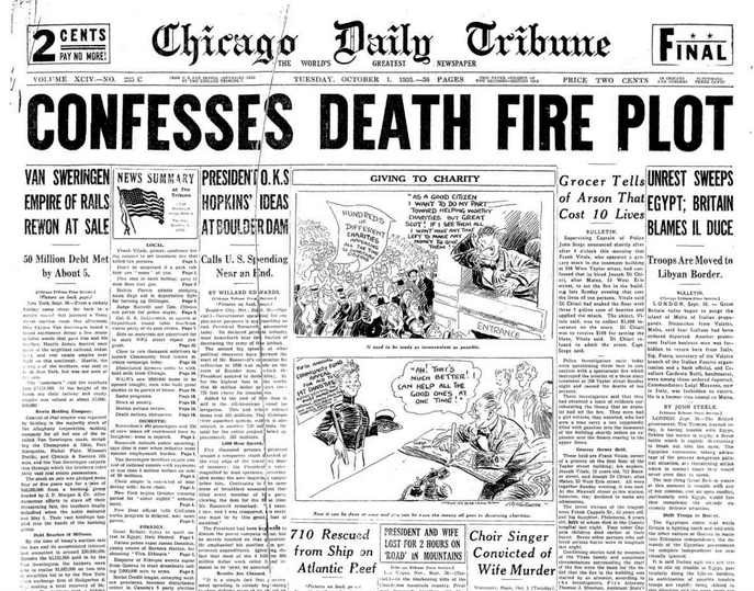 Chicago Daily Tribune Oct 1, 1935