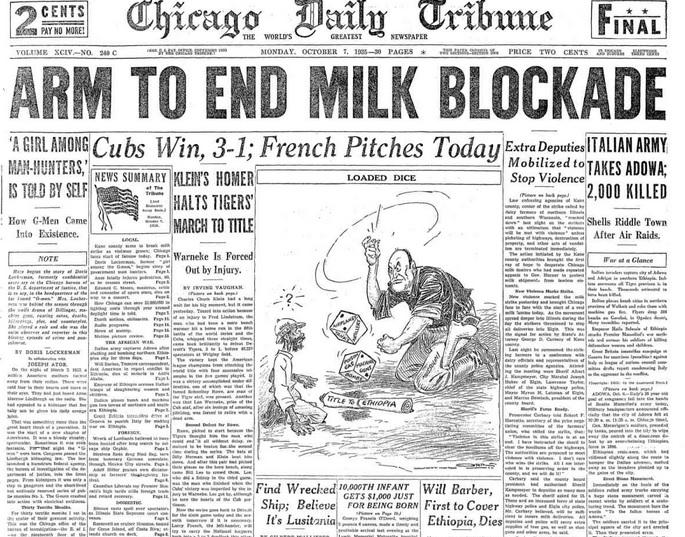 Chicago Daily Tribune Oct 7, 1935