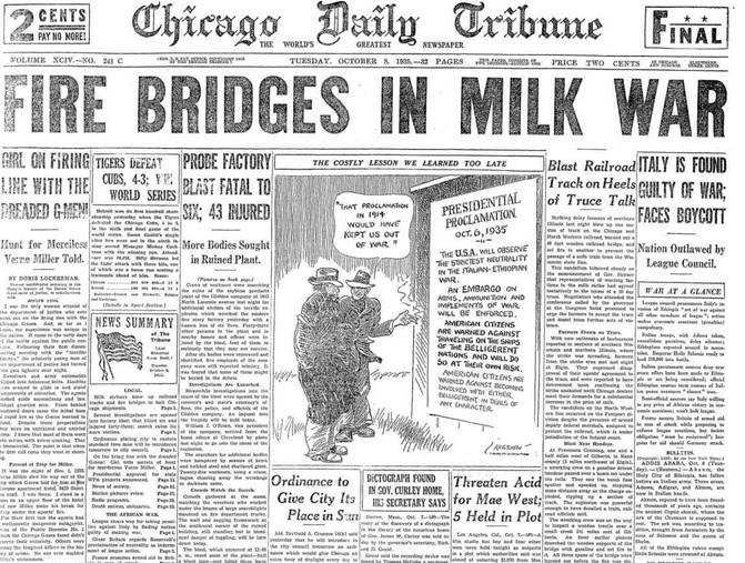 Chicago Daily Tribune October 8, 1935