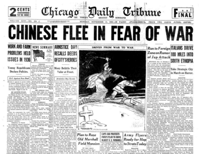 Chicago Daily Tribune Nov 11, 1935