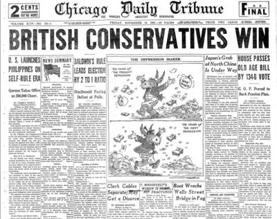 Chicago Daily Tribune Nov 15, 1935