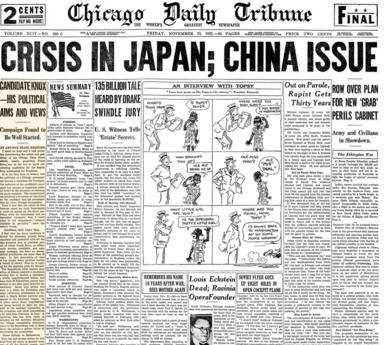 Chicago Daily Tribune Nov 22, 1935