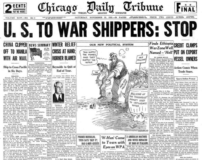Chicago Daily Tribune Nov 23, 1935