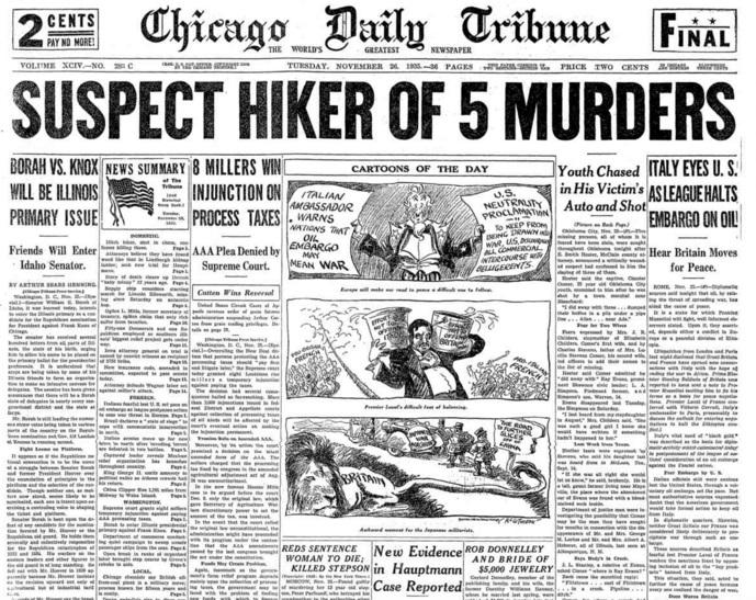 Chicago Daily Tribune Nov 26, 1935