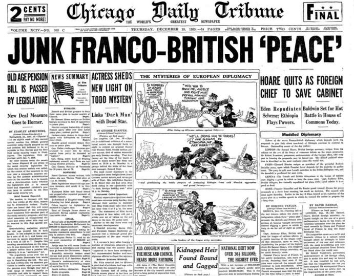 Chicago Daily Tribune Dec 19, 1935
