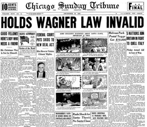 Chicago Sunday Tribune Dec 22, 1935