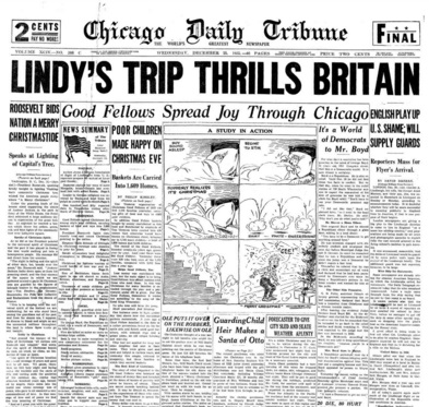 Chicago Daily Tribune Dec 25, 1935