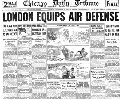 Chicago Daily Tribune Dec 3, 1935