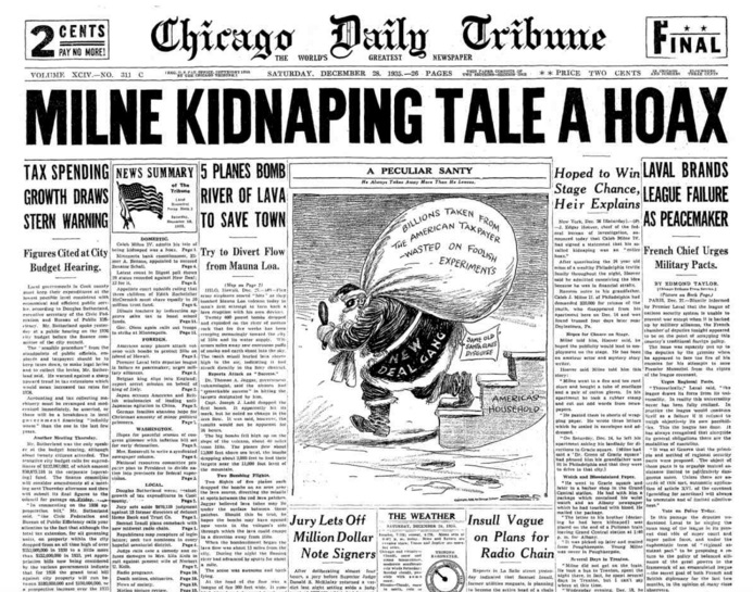Chicago Daily Tribune Dec 28, 1935