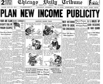 Chicago Daily Tribune Dec 11, 1935
