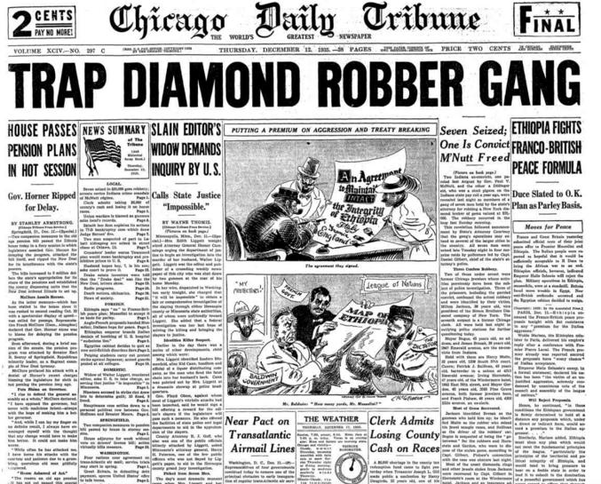 Chicago Daily Tribune Dec 12, 1935