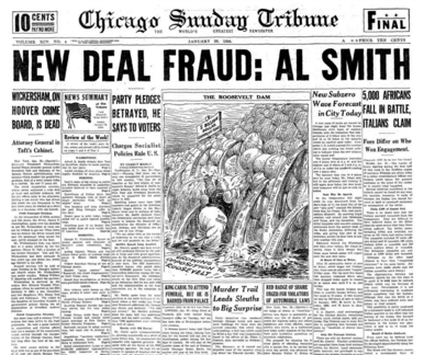 Chicago Sunday Tribune Jan 26, 1936