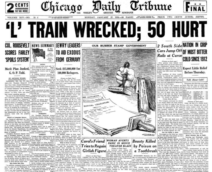 Chicago Daily Tribune Jan 27, 1936