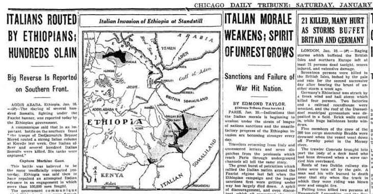Chicago Daily Tribune Jan 11, 1936 pg 7