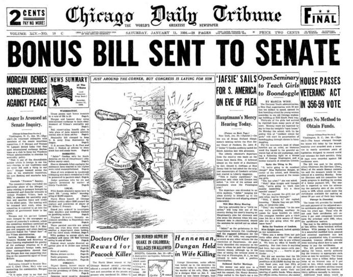 Chicago Daily Tribune Jan 11, 1936