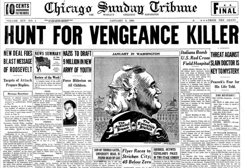 Chicago Sunday Tribune Jan 5, 1936