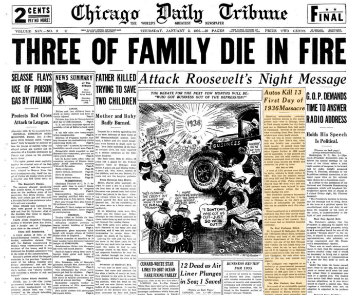 Chicago Daily Tribune Jan 2, 1936