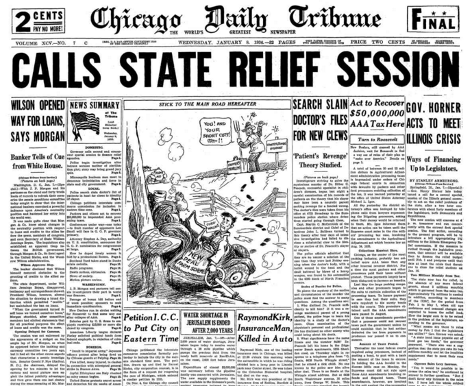Chicago Daily Tribune Jan 8, 1936